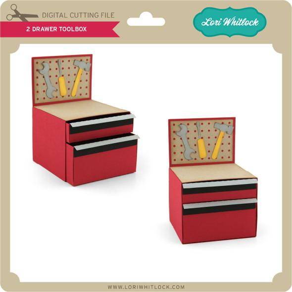 2 Drawer Toolbox