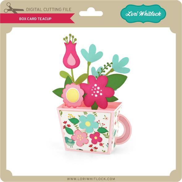 Box Card Teacup