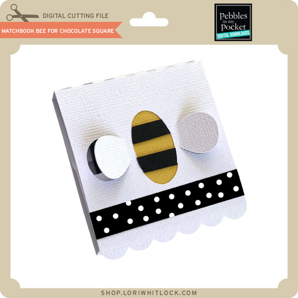Matchbook Bee for Chocolate Square