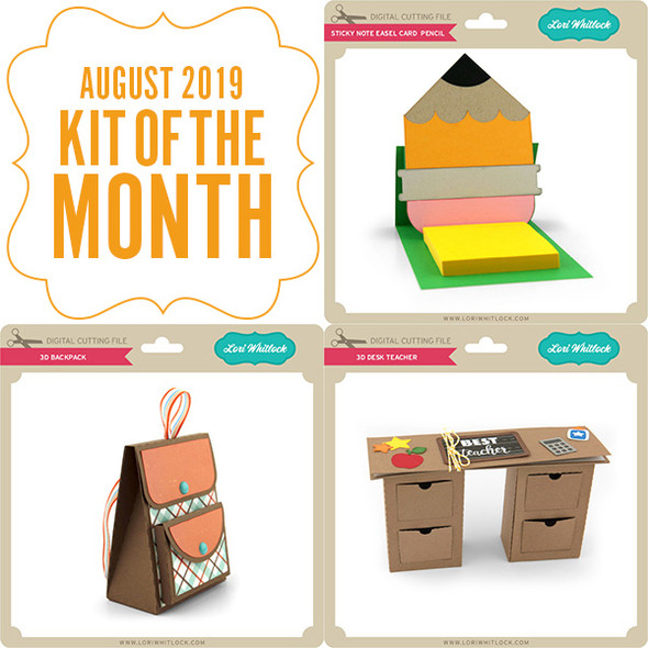 2019 August Kit of the Month