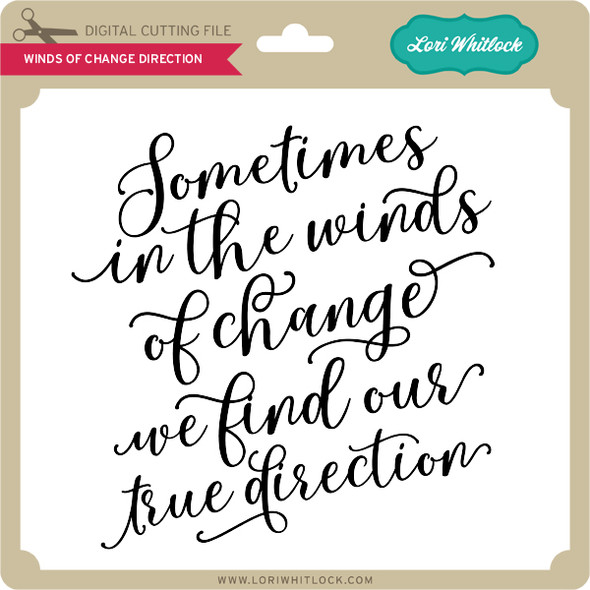 Winds Of Change Direction