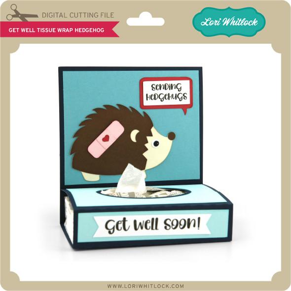 Get Well Tissue Wrap Hedgehog