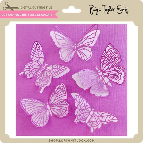 Cut and Fold Butterflies Galore