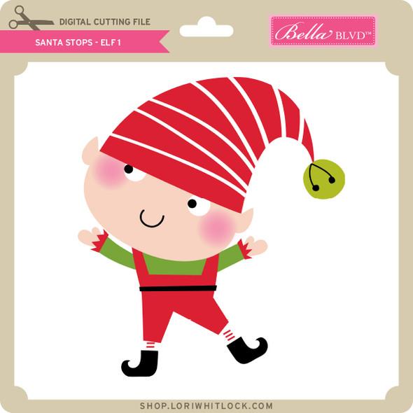 Santa Stops - Elf 1