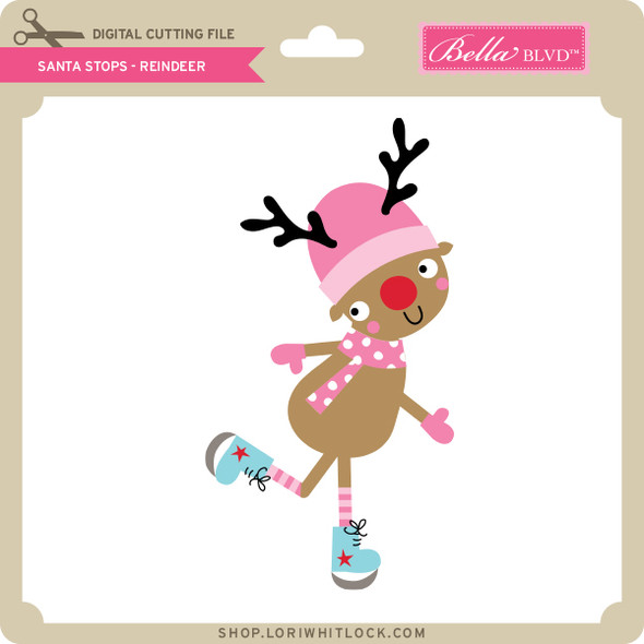 Santa Stops - Reindeer