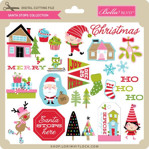 Santa Stops - Collection