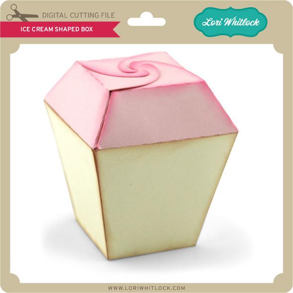 Ice Cream Shaped Box 2