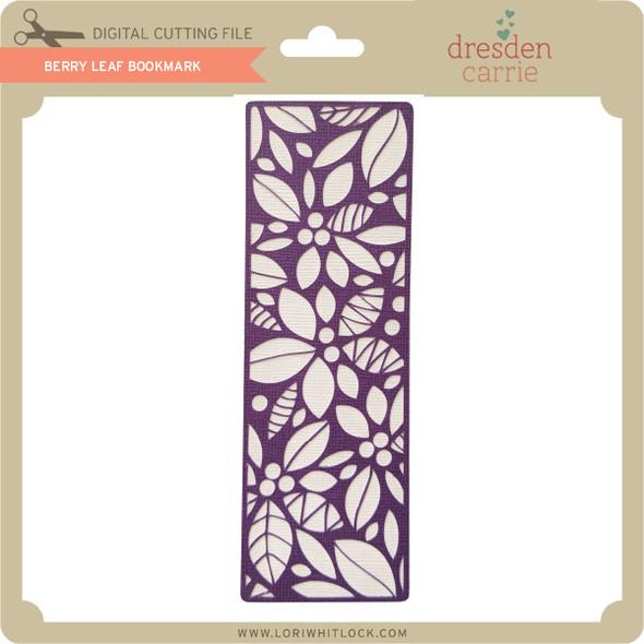 Berry Leaf Bookmark