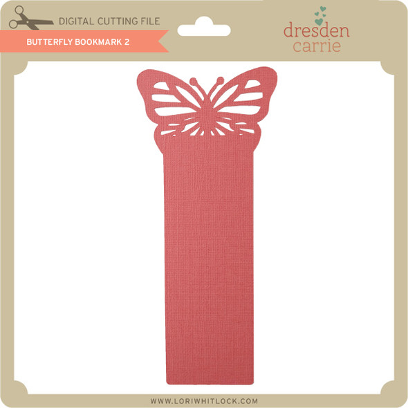 Butterfly Bookmark 2