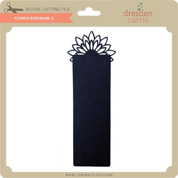 Flower Bookmark 2