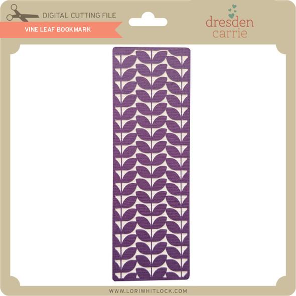 Vine Leaf Bookmark