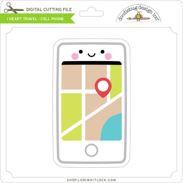 I Heart Travel - Cell Phone
