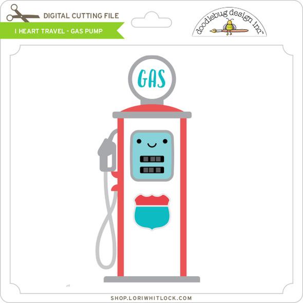 I Heart Travel - Gas Pump