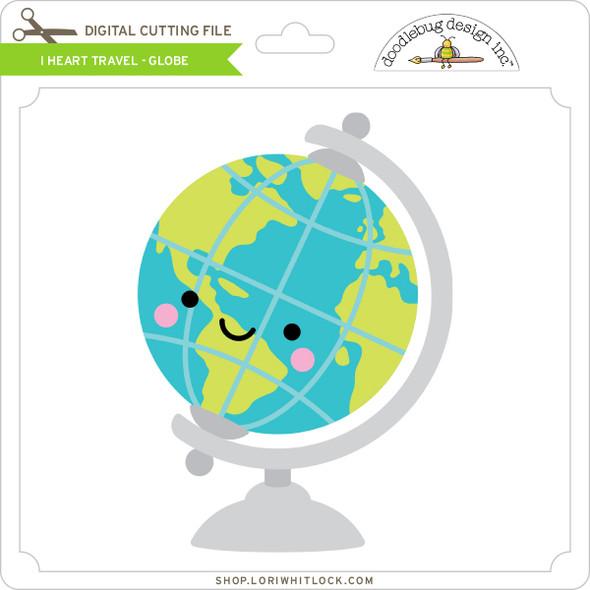 I Heart Travel - Globe