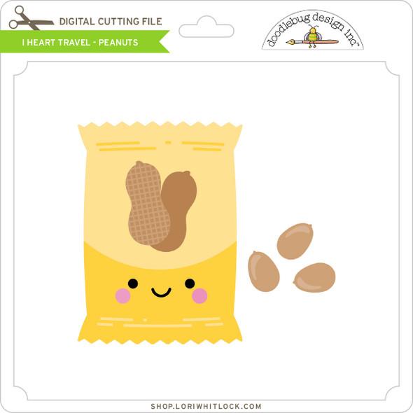 I Heart Travel - Peanuts