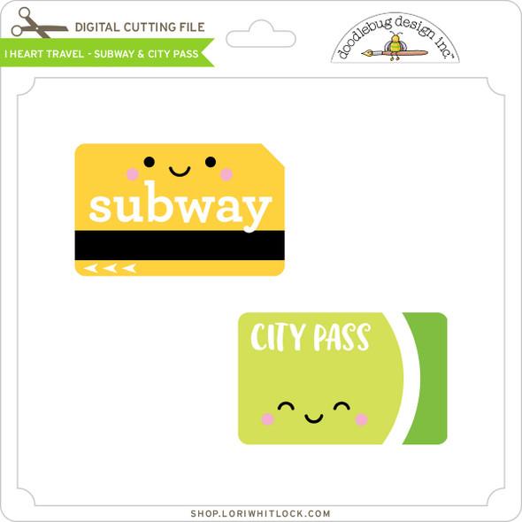 I Heart Travel - Subway & City Pass