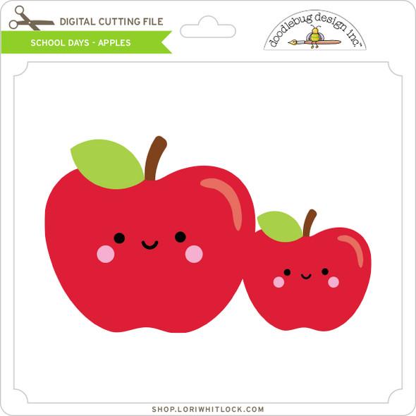 School Days - Apples