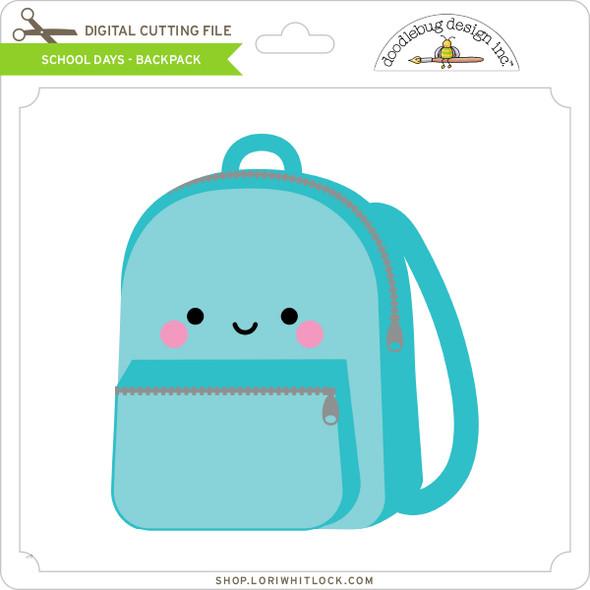 School Days - Backpack