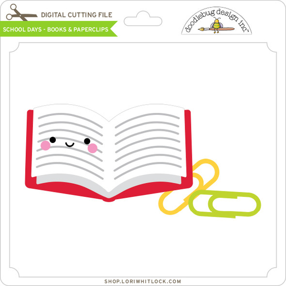School Days - Books & Paperclips