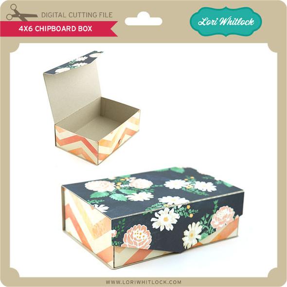 4x6 Chipboard Box