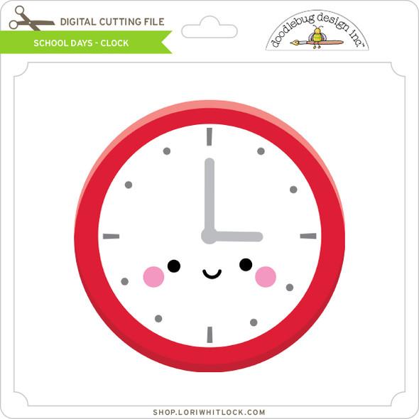 School Days - Clock