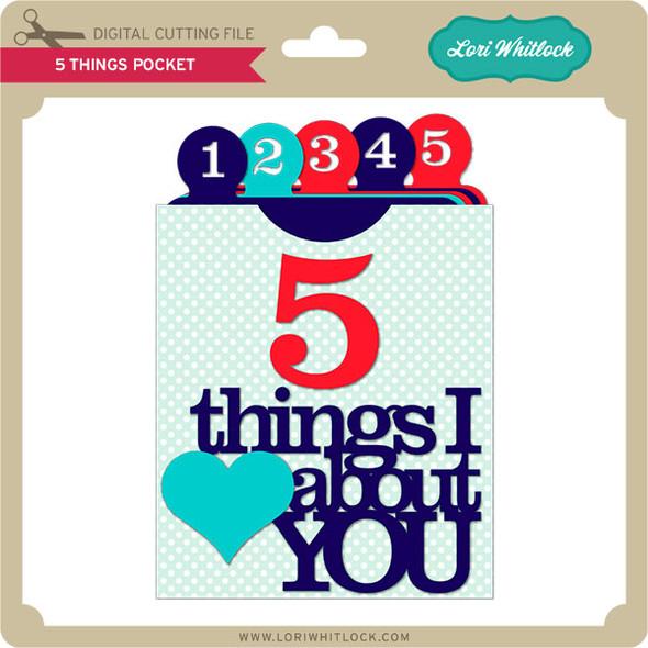 5 Things Pocket