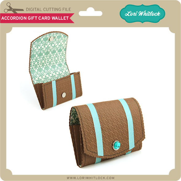 Accordion Gift Card Wallet
