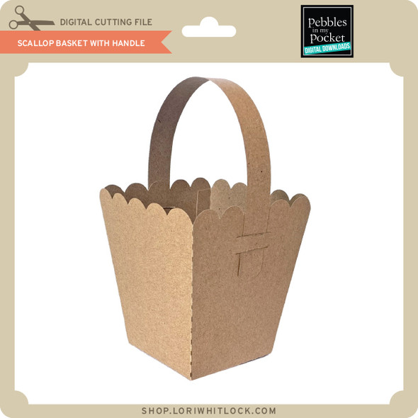 Scallop Basket with Handle