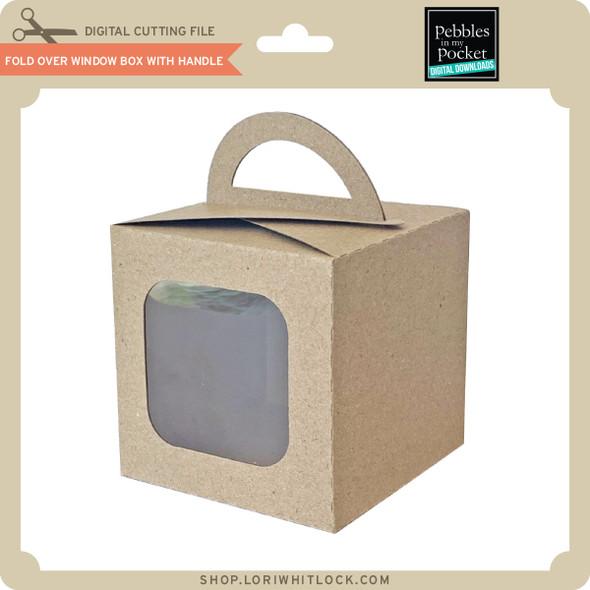 Fold Over Window Box With Handle