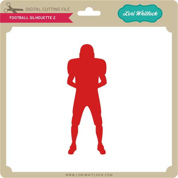 Football Silhouette 2