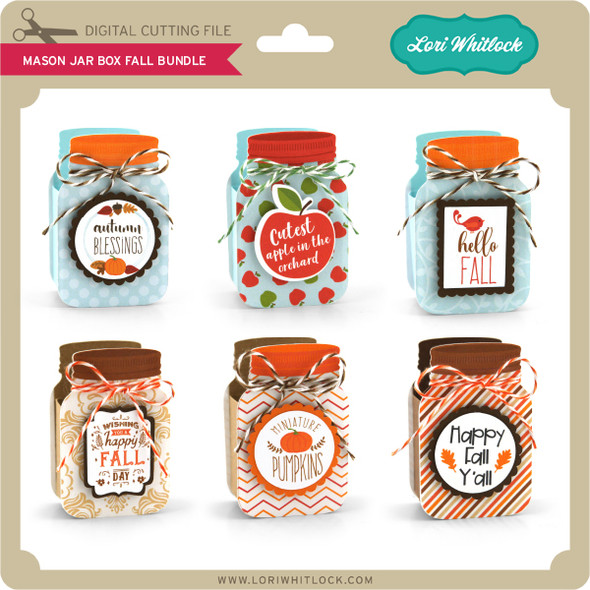 Mason Jar Box Fall Bundle