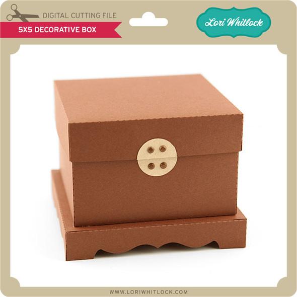 5x5 Decorative  Box