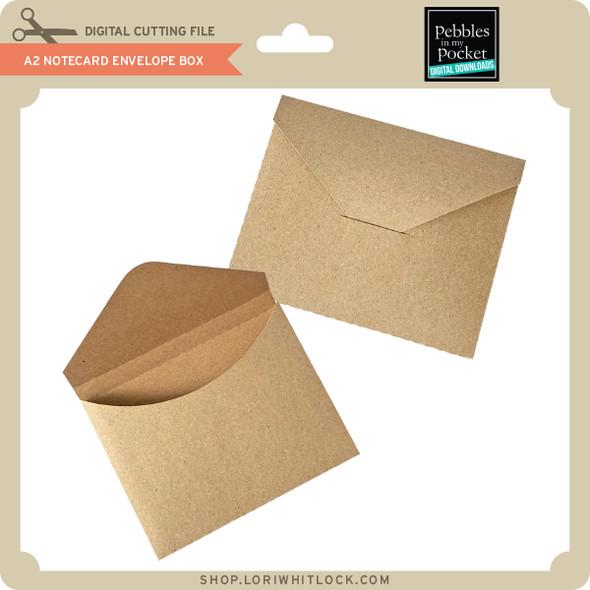 A2 Notecard Envelope Box