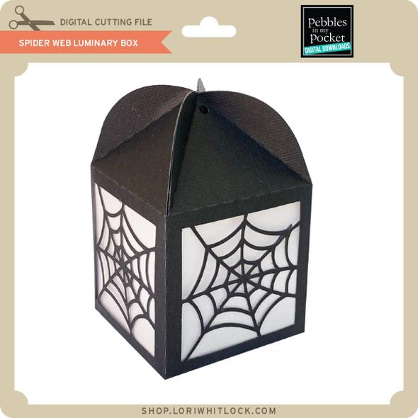 Spider Web Luminary Box