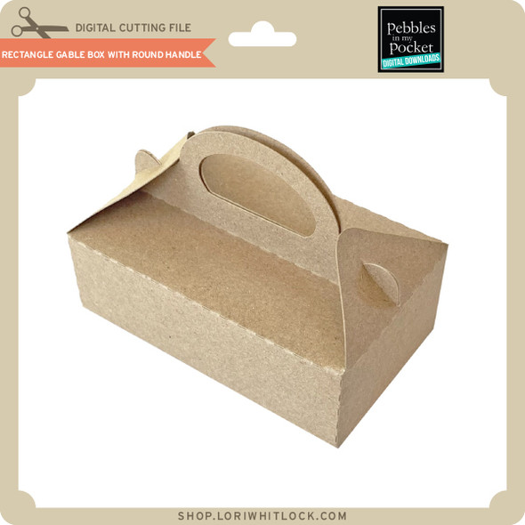 Rectangle Gable Box with Round Handle