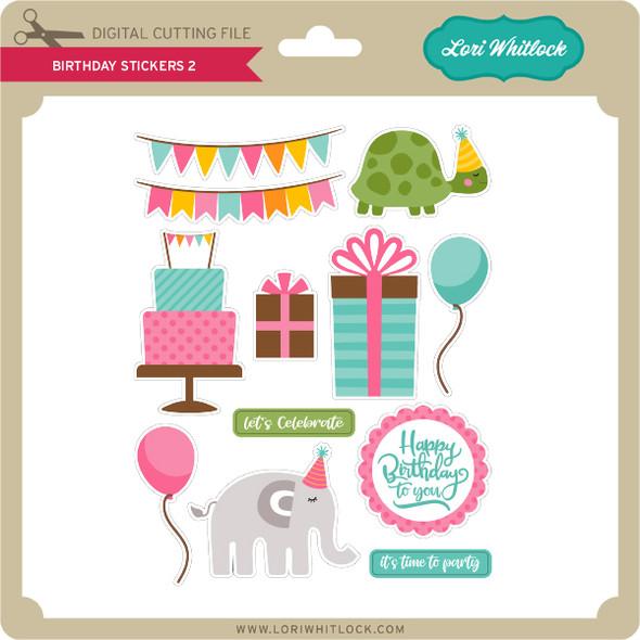 Birthday Stickers 2