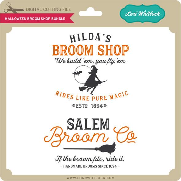 Halloween Broom Shop Bundle