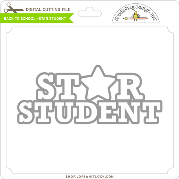 Back To School Star Student