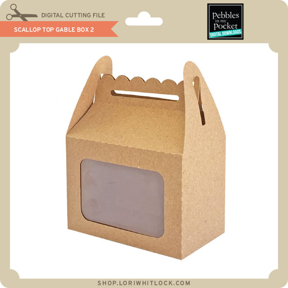 Scallop Top Gable Box 2