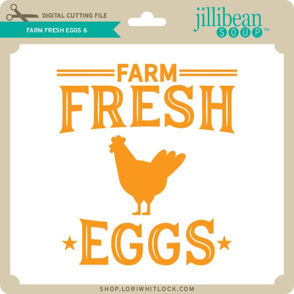 Farm Fresh Eggs 6