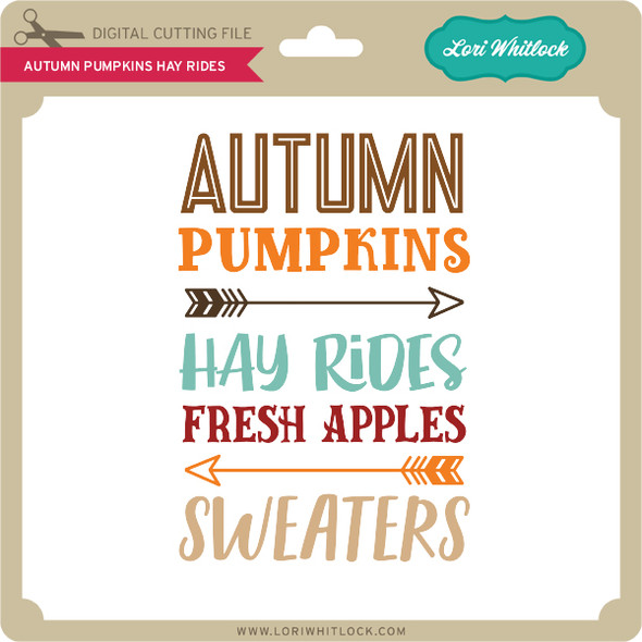 Autumn Pumpkins Hay Rides