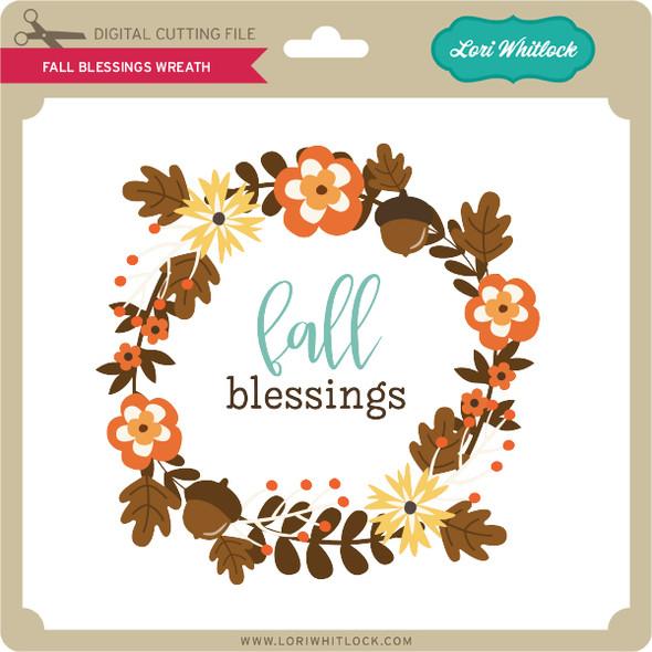 Fall Blessings Wreath