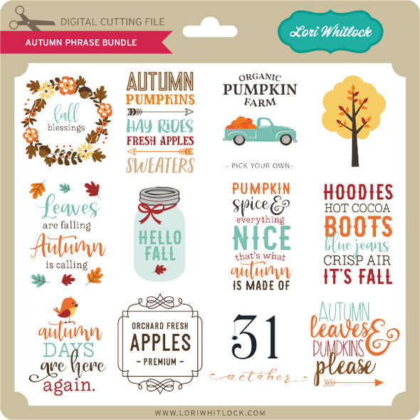 Autumn Phrase Bundle
