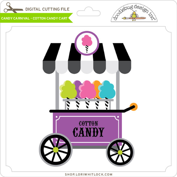 Candy Carnival - Cotton Candy Cart