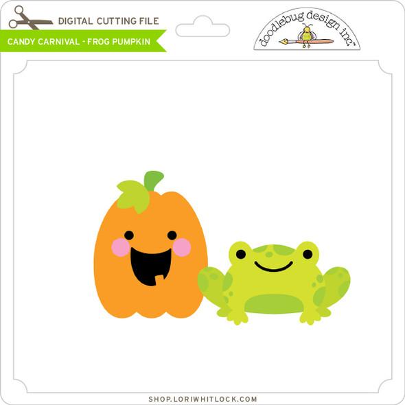 Candy Carnival - Frog Pumpkin