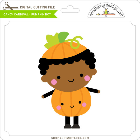 Candy Carnival - Pumpkin Boy