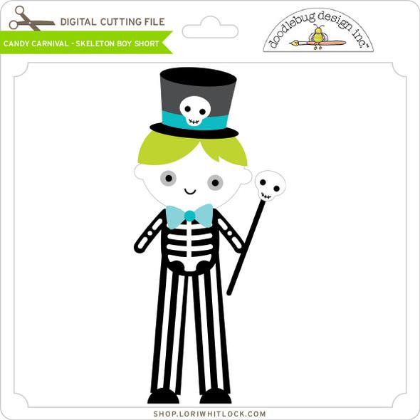 Candy Carnival - Skeleton Boy Short