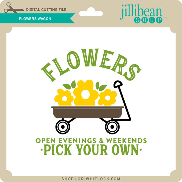 Flowers Wagon