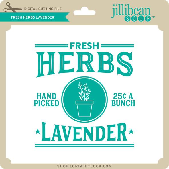 Fresh Herbs Lavender