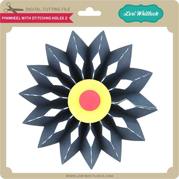 Pinwheel with Stitching Holes 2